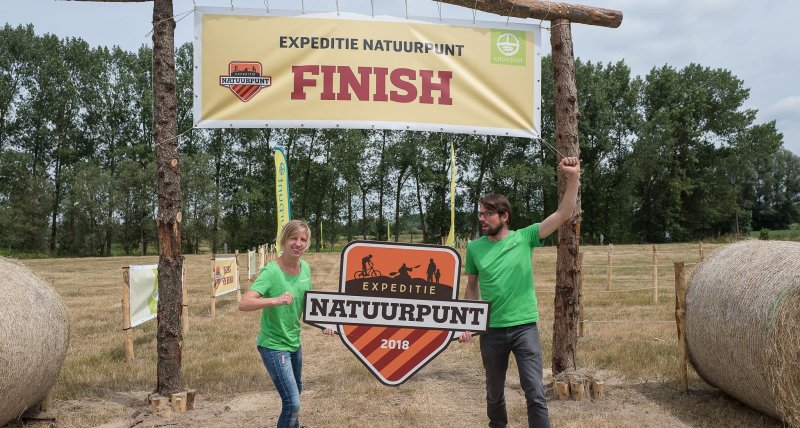 Finish Expeditie Natuurpunt 2018