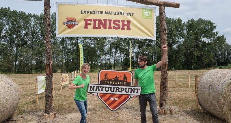 Finish Expeditie Natuurpunt 2018
